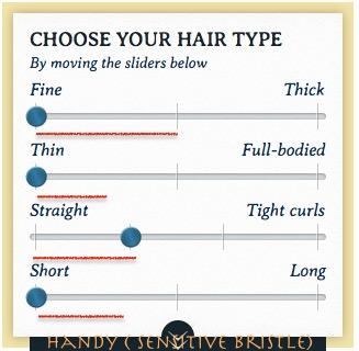 センシティブブリッスル 合う髪質タイプ