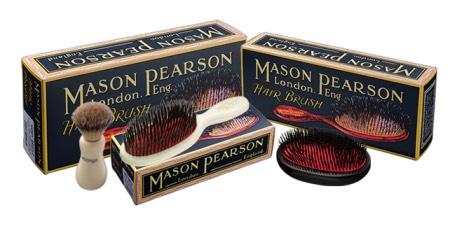 メイソンピアソンの獣毛ブラシ
