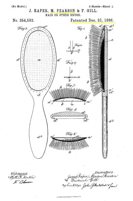 メイソンピアソン特許