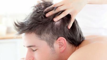 湯シャンのやり方 頭皮を洗う