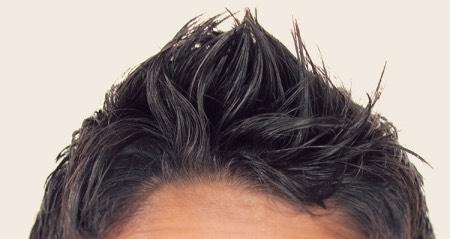 整髪料と湯シャン